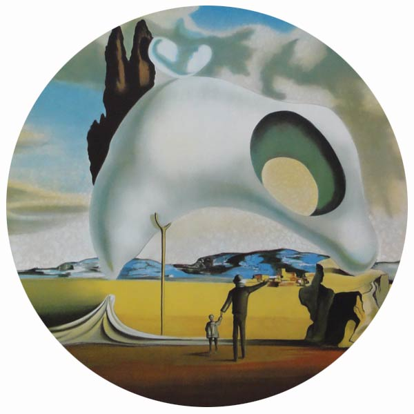 Works of art by Salvador Dali