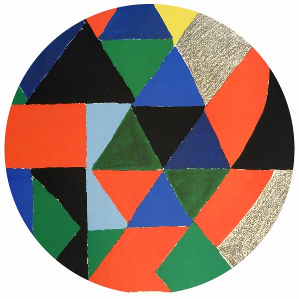 Works of art by Sonia Delaunay