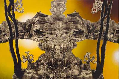 Temple Reflection, 2004 by Gordon Cheung