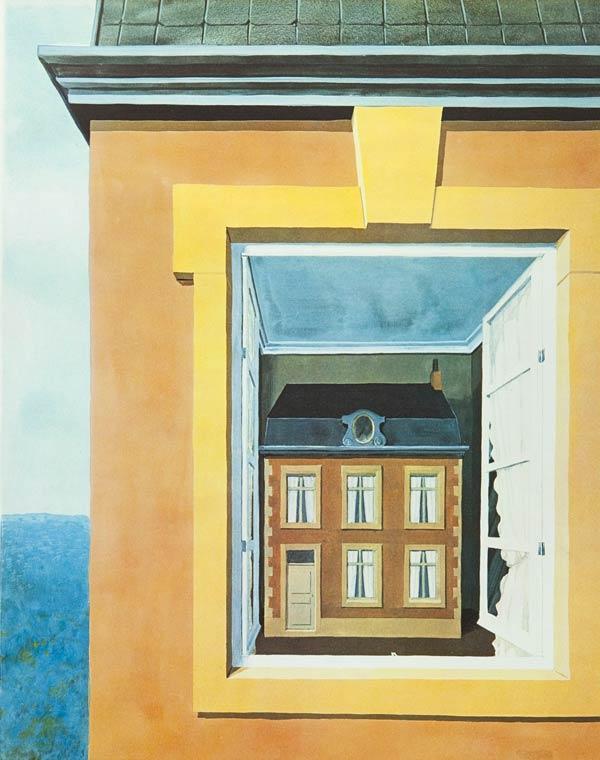 Éloge de la Dialectique by René Magritte