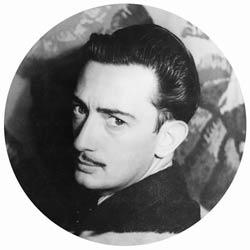 Portrait of Salvador Dali