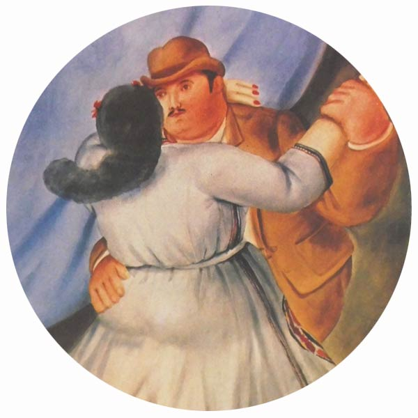 Works of art by Fernando Botero